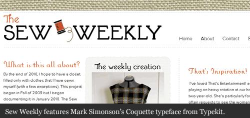Sew-weekly-typekit-typepad