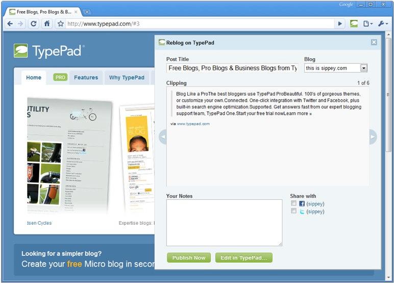 TypePad-BlogIt