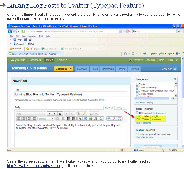 FireShot capture #325 - 'Teaching CS in Dallas_ Linking Blog Posts to Twitter (Typepad Feature)' - www_kweaver_org_cs_2010_02_linking-blog-posts-to-twitter-typepad-feature_html