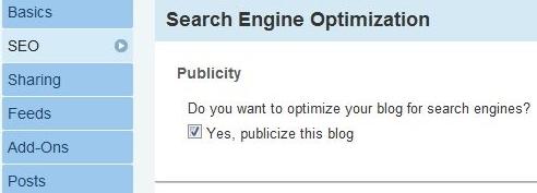 Publicize This Blog
