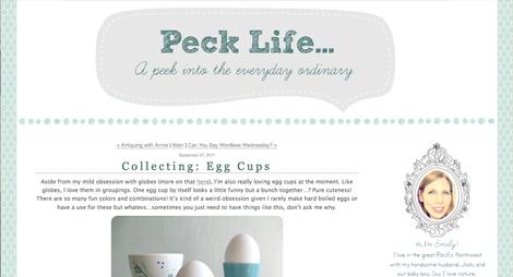 Peck_life