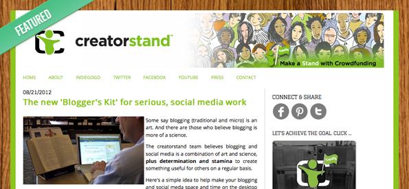 Creatorstand