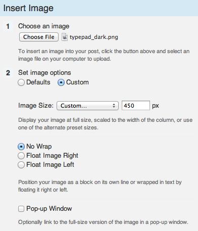 Insert Image Custom Width