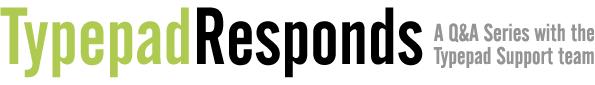Typepadresponds