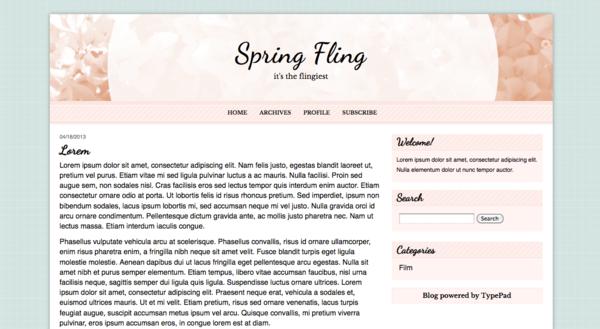 Springfling-coral