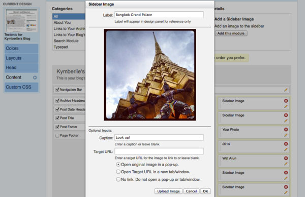 NEW on TypePad: Easily Upload Sidebar Images Plus More!