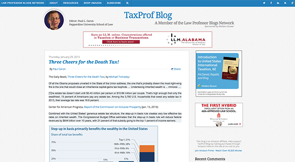 TaxProf Blog