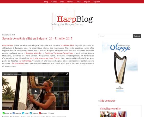 Le Harpblog