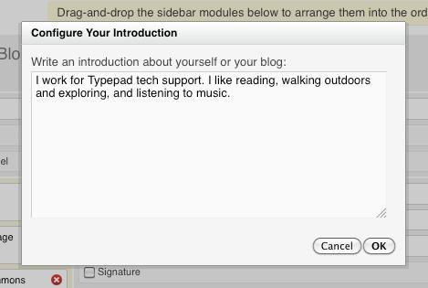 Introduction module