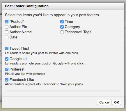 Post Footer Module