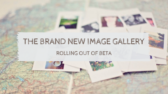 Image Gallery Beta Roll Out
