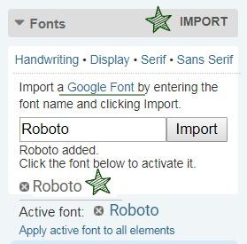 Import A Font