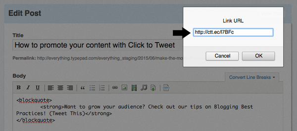 How to promote your content with Click to Tweet - Everything