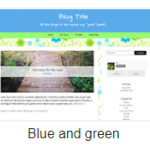 Blue And Green Theme