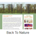 Back To Nature Theme