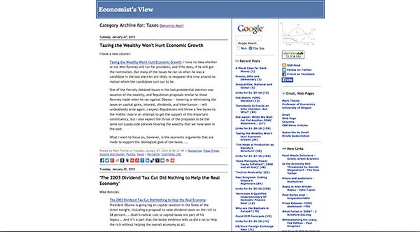 Econimist's View