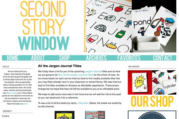 Second Story Window