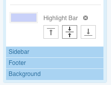 Highlight Bar section