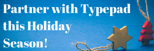 Partner with Typepad
