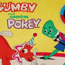 Gumby and Pokey water coloring book