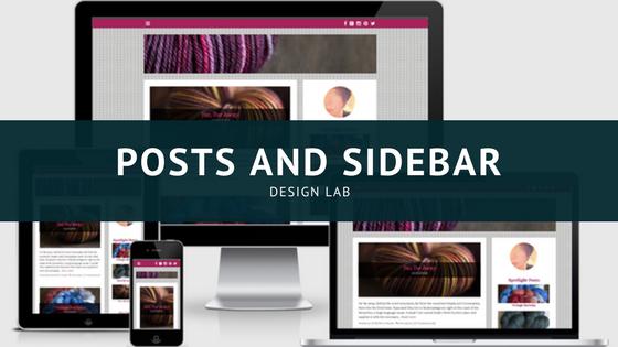 Design Lab_ Posts and Sidebar