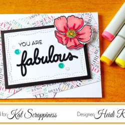 Video Kat Scrappiness Design Team Project You Are Fabulous
