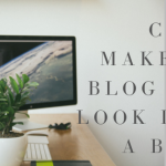 Can I Make My Blog Not Look Like a Blog?