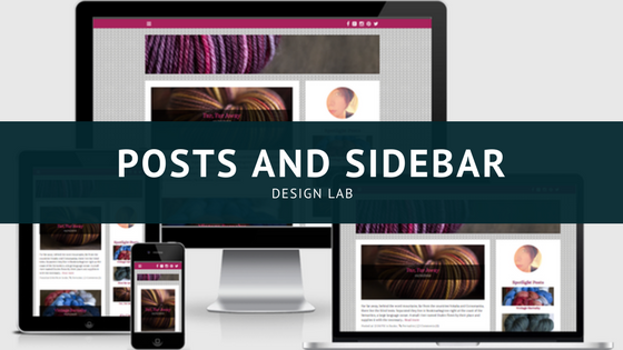 Design Lab Sidebar and Posts