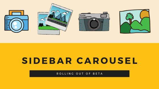 Sidebar carousel