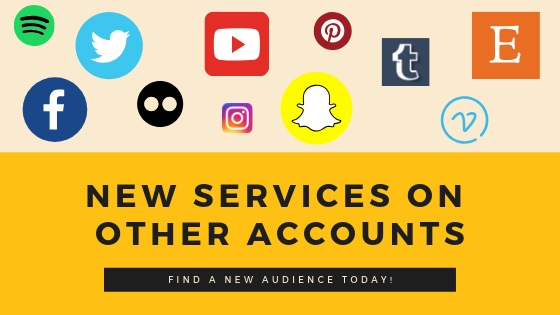 New Services On Other Accounts
