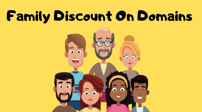 Family Discount on Domains