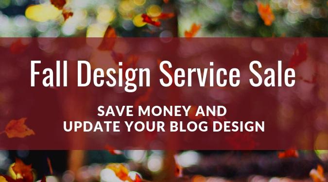 Fall Service Sale