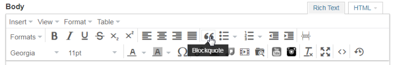 Backquote Editor