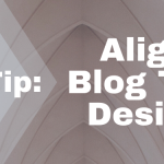 Quick Tip: Align Your Blog Title In Design Lab