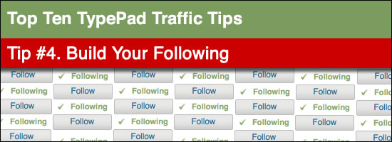 typepad follow module
