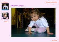 Paginated photo album