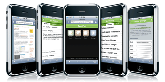 TypePad + iPhone